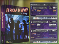 Fable Sounds Broadway LITEs 2.0.24 爵士铜管轻量版 KONTAKT